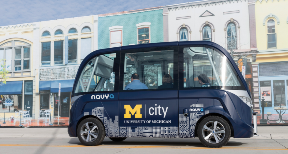 Driverless Shuttles Debut at University of Michigan