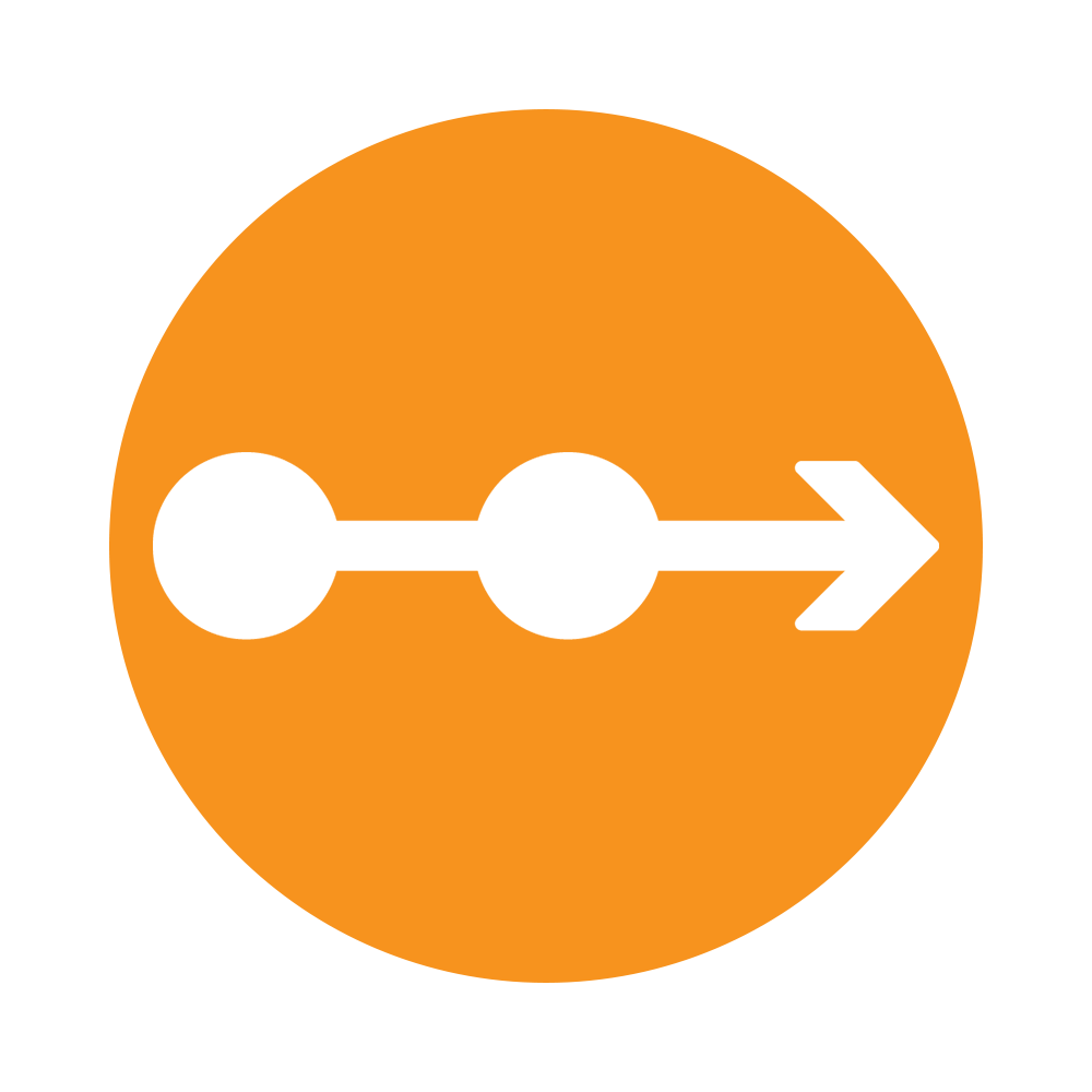 Orange Arrow