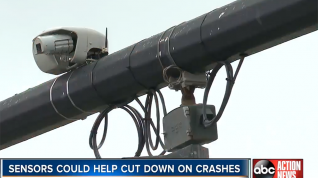 ABC Action News: Lakeland Launches New Technology to Study and Prevent Red Light Related Crashes