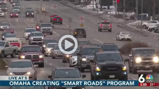 WOWT 6 News Nebraska: Iteris-developed Master Plan Supports Omaha's Smart Roads Program to Help Drivers in Rush Hour