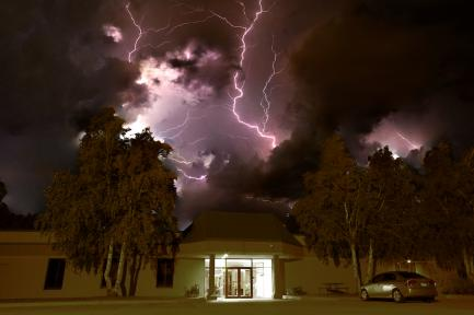 Lighting over Iteris Grand Forks