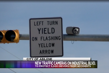 KRBC News: New traffic-sensored cameras installed on Maple Dr. and Industrial Blvd. intersection