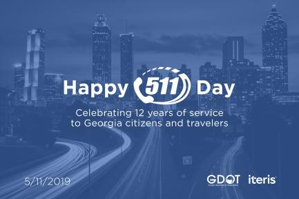 Iteris and Georgia DOT Celebrate 511 Day