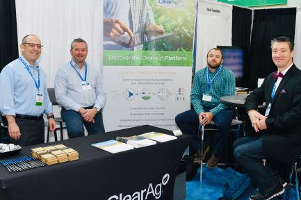 CleaAg team at InfoAg 2019