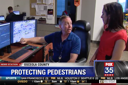 Fox 35 Orlando: Osceola County Using Cameras for Pedestrian Safety