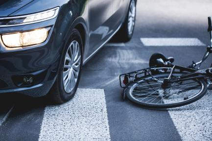 Car vs. Bicycle collision