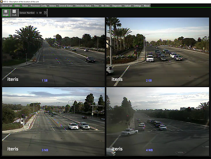 Monitor your intersection with a livestreaming video