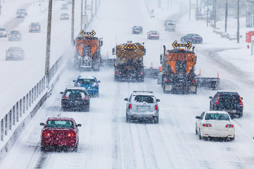 Snowplows and traffic